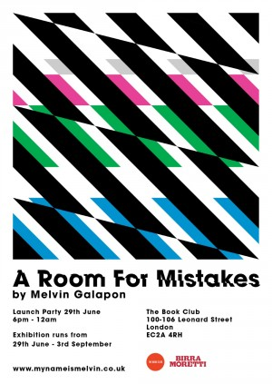 Exhibition Launch: 'A Room for Mistakes' by Melvin Galapon