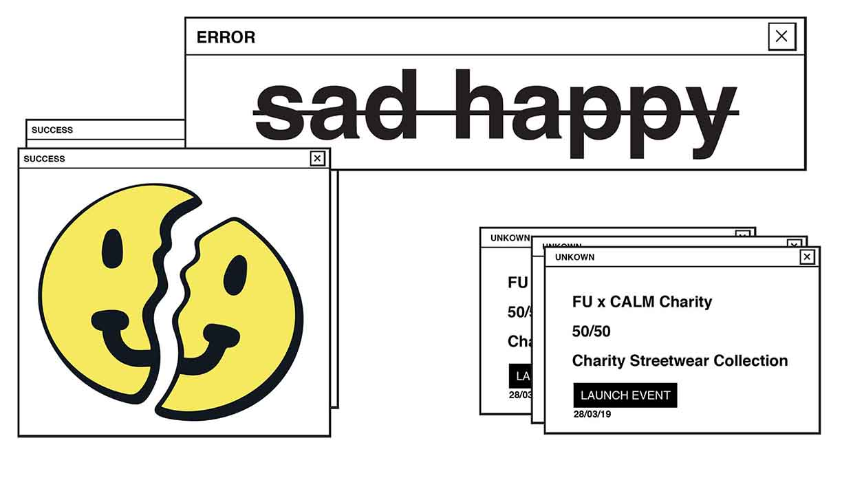 Flower Up x CALM | sadhappy Launch Party