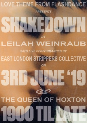 Shakedown Screening - East London Strippers Collective