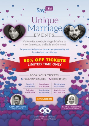Penny Appeal Presents Unique Marriage Events - Manchester