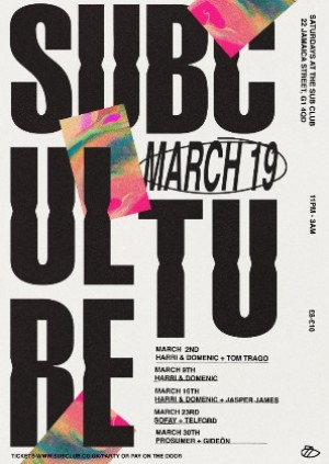 SUBCULTURE • SOFAY • TELFORD