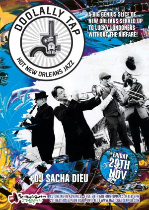 Doololly Tap + DJ Sacha Dieu