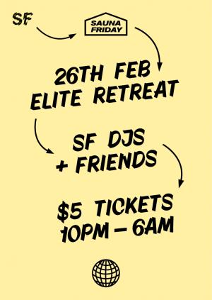 SF presents Sauna Friday