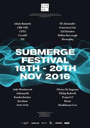 Submerge Festival 2016: Fathoms