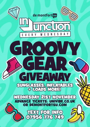 Injunction Groovy Gear Giveaway