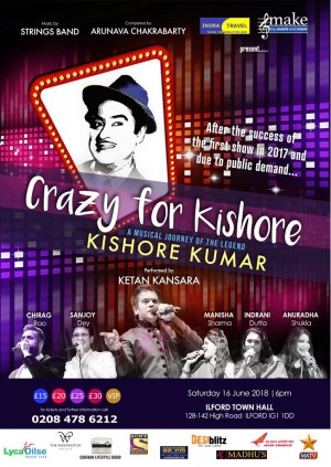 Kishore Kumar - the Musical Journey