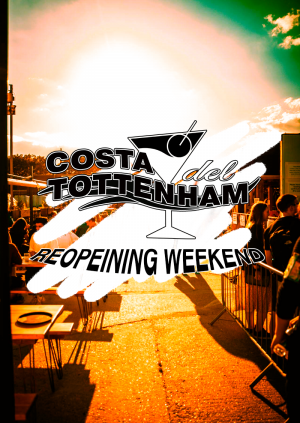 Saturday Night: Costa Del Tottenham Reopening on The Terrace