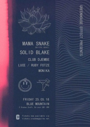 Greenhouse Effect w/ Mama Snake & Solid Blake