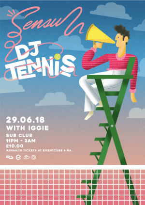 Sensu presents DJ Tennis