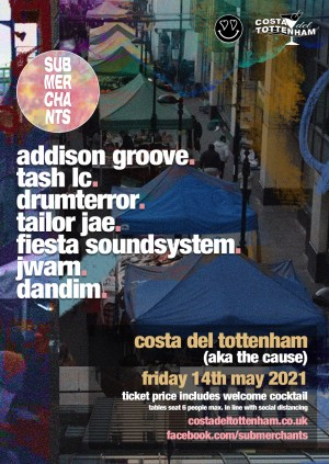 Sub Merchants with Addison Groove, Tash LC & More on The Terrace - NEW DATE
