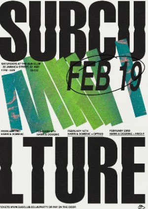 SUBCULTURE • HARRI & DOMENIC, FRED P