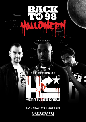 Back to 98 Halloween present Heartless Crew