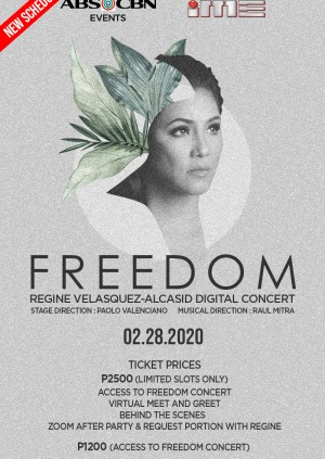 Freedom: The Regine Velasquez Valentine Digital Concert