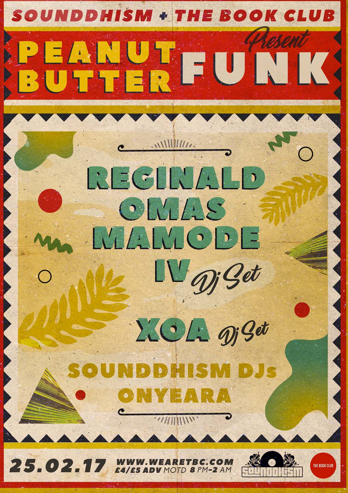 Peanut Butter Funk w/ Reginald Omas Mamode IV & XOA