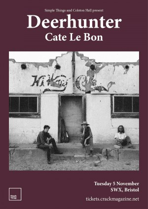 Deerhunter and Cate Le Bon, Live in Bristol