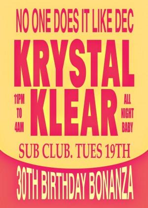 I AM - Krystal Klear