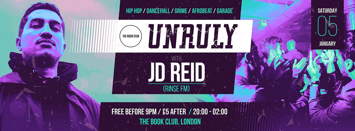 Unruly LDN with JD REID