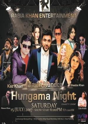 Hungama Night - Charity Event