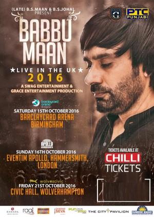 Babbu Maan Live UK Tour - Wolverhampton