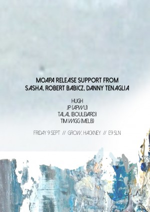Boulevard Presents 'MOAPA' | Release Support From Sasha, Maceo Plex, Danny Tenaglia, Robert Babicz