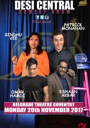 Desi Central Comedy Show - Coventry