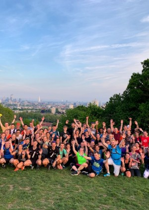 TRIBE x We Are Daybreak Hampstead Heath Trail Run