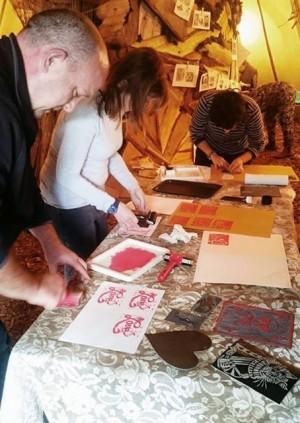 Art Macabre: Lino Cut Printing Workshop