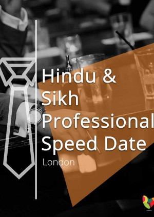 Hindu & Sikh Professional Speed Date