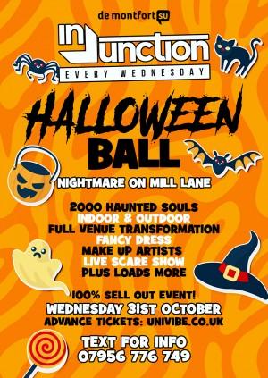Injunction Halloween Ball