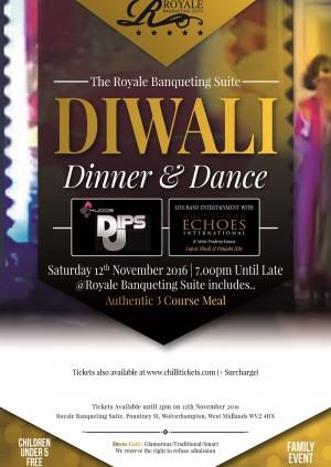 Diwali  Dinner & Dance 2016