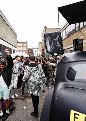 The Star of Bethnal Green Street Party 2017