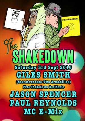 The Shakedown with Giles Smith, Paul Reynolds, Jason Spencer & MC-E-Mix