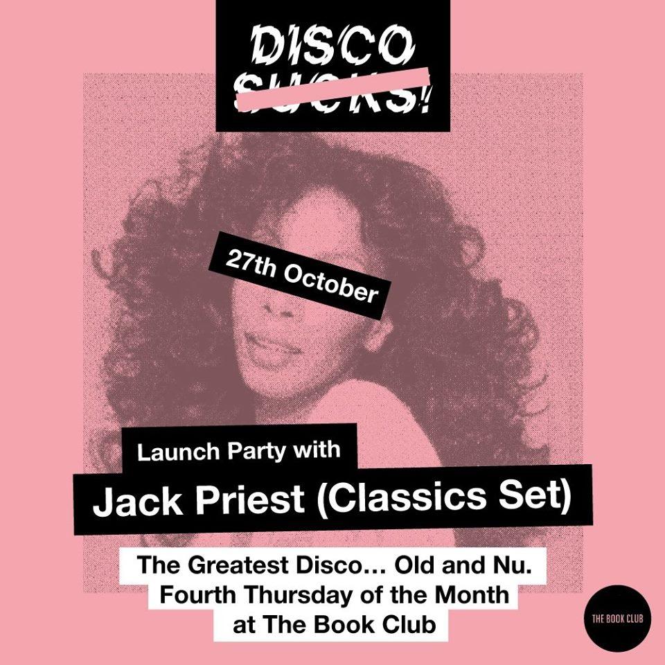 Disco -S-u-c-k-s- Launch Night