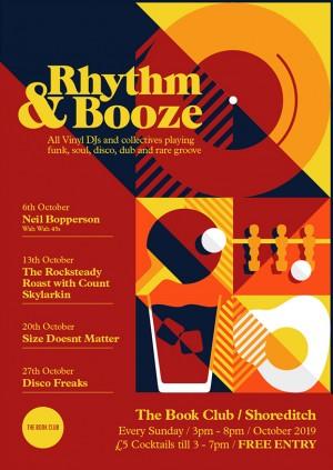 Rhythm & Booze  W/ Size Doesn't Matter - Free Vinyl Session