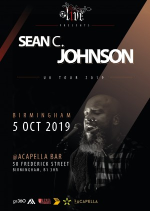 GL Live featuring Sean C Johnson UK  Birmingham