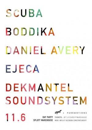 Warehouse Day Party w/ Scuba, Boddika, Daniel Avery, Ejeca, Dekmantel Soundsystem | After-Party w/ Alan Fitzpatrick