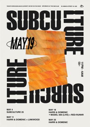 Subculture • Linkwood + Harri & Domenic • 11.05.19