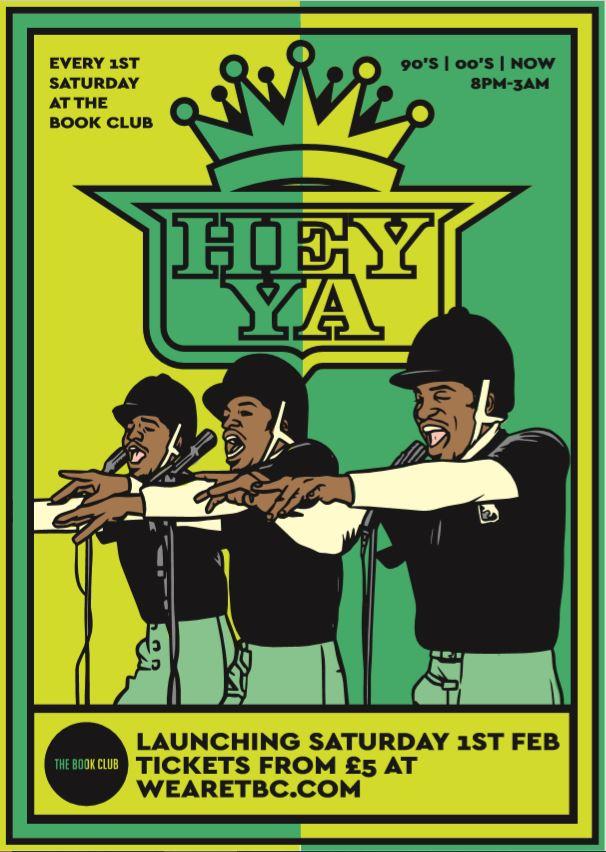 Hey Ya - 90s/00's/Now Party w / Teddy Lewis