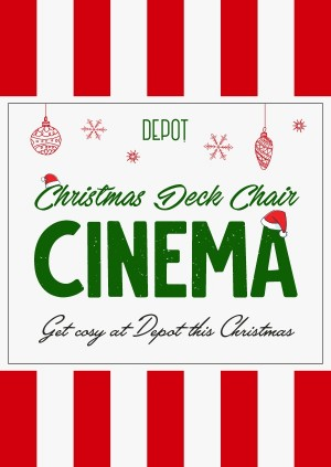 DEPOT Christmas Deck Chair Cinema