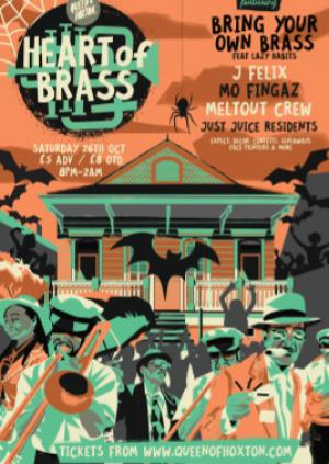 Heart of Brass w/ BYOB (Live Brass Band)
