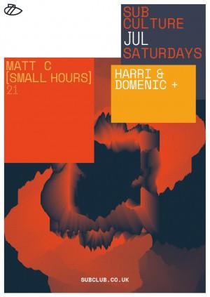 Subculture・Harri & Domenic + Matt C [Small Hours]