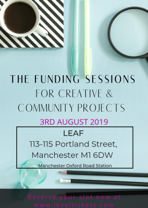 The Funding Sessions - MANCHESTER