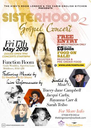 Sisterhood 2 Gospel Concert