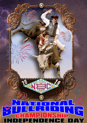 6th annual National Bullriding Championship  Independence Day & Dance