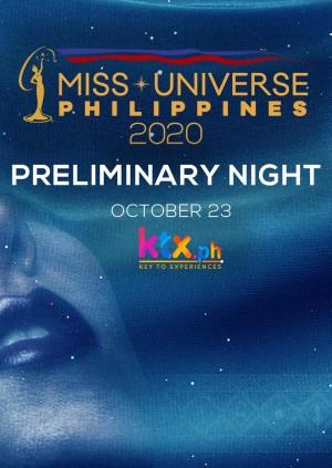 Miss Universe Philippines 2020 Preliminary Night