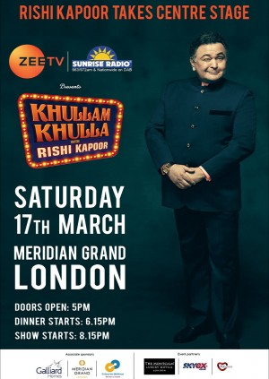 Khullam Khulla with Rishi Kapoor - London