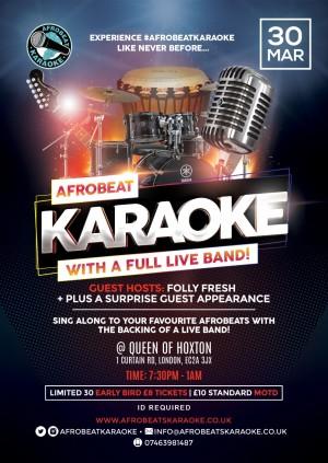 Afrobeat Karaoke & Live Instrumental Band