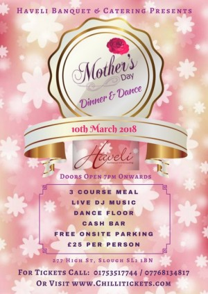 Mother's Day Dinner & Dance