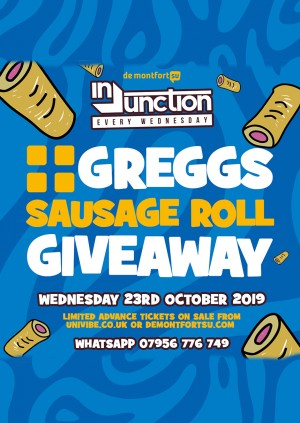 Injunction Greggs Sausage Roll Giveaway
