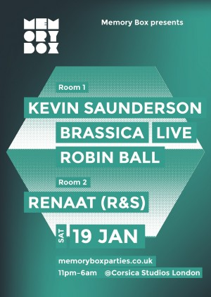 Memory Box with Kevin Saunderson & Renaat [R&S]